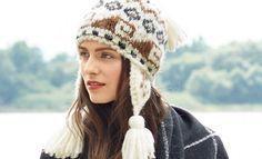 Схемы вязания шапок спицами для женщин на Verena.ru