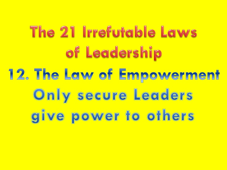 21 Rules Of Success: 8 Best Leadership Images On Pinterest