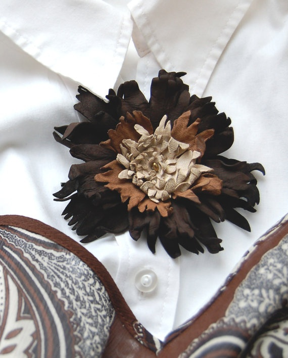51 best leather flowers images on pinterest leather for Leather flowers for crafts
