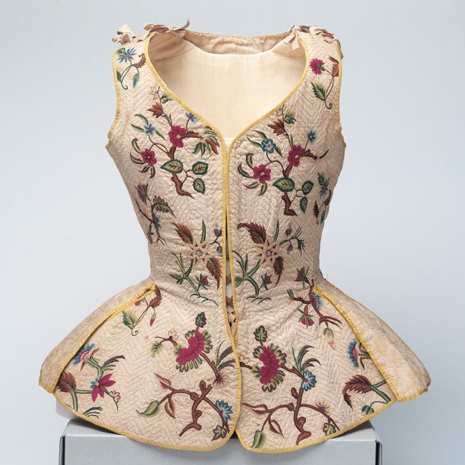 Jumps, ca. 1725; Arizona Costume Institute
