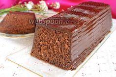 Шоколадный кекс на минералке рецепт с фото, как приготовить на Webspoon.ru