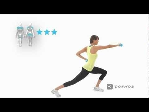 [DOMYOS] HALTERES - Exercice 1 www.domyos.com