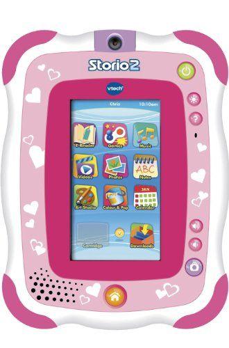 Vtech – 136855 – Jeu Électronique – Tablette Storio 2 Rose + Appareil Photo Intégré | Your #1 Source for Toys and Games