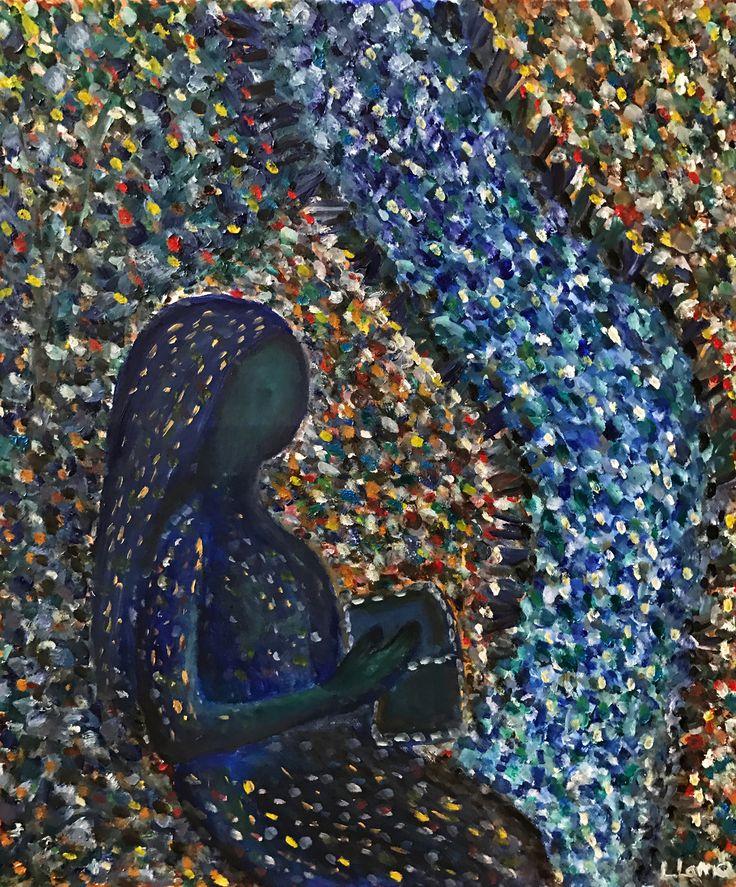 """Thinking"" by artist Leto Lama"
