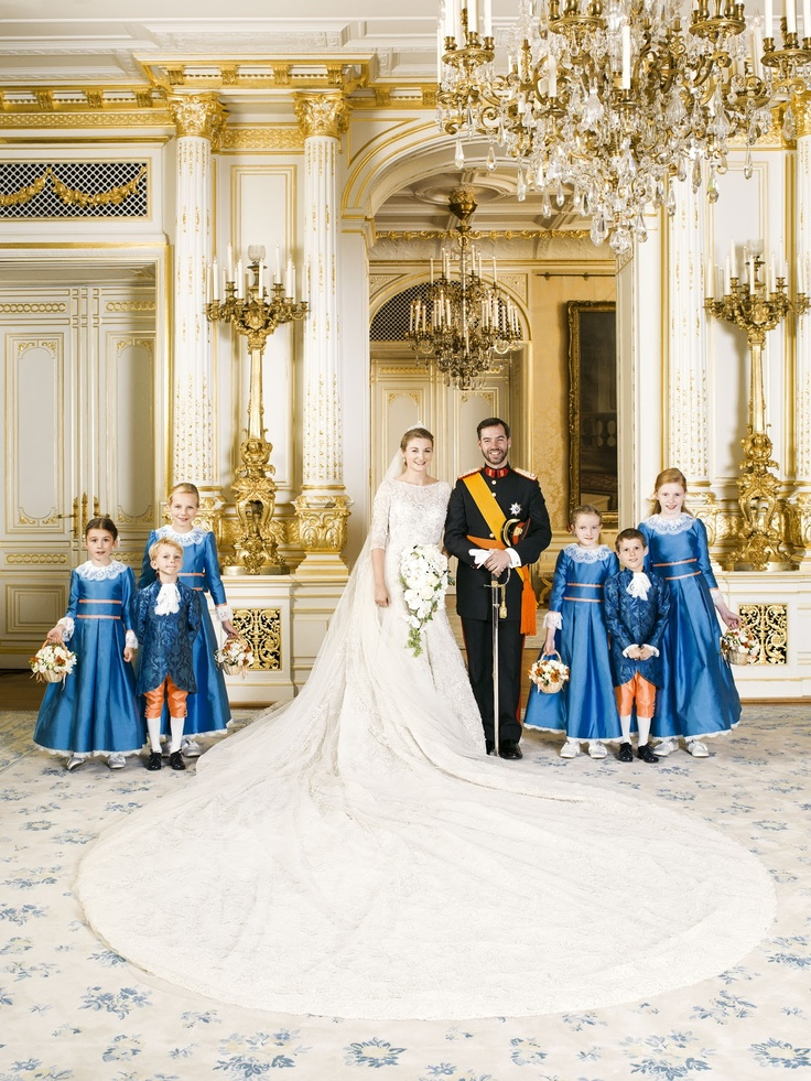 Prince Guillaume of Luxembourg & Princess Stephanie    © Cour Grand Ducale / Christian Aschman