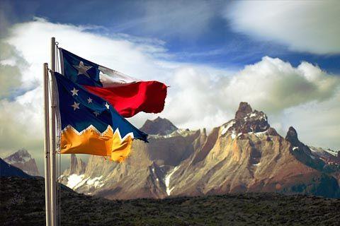 Bandera de la región de Magallanes