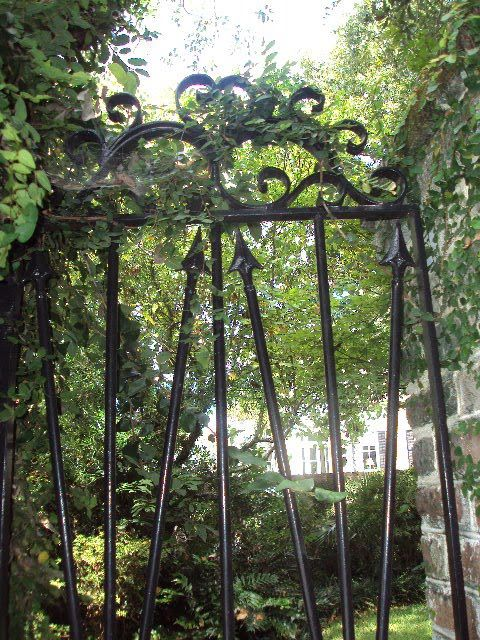 Antique Art Garden Antique Wrought Iron Gates Of