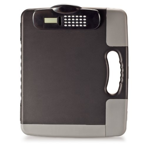 Officemate  Portable Clipboard Storage Case with Calculator, Charcoal (83302) by Officemate, http://www.amazon.com/dp/B002MCZA0Y/ref=cm_sw_r_pi_dp_0RQlrb1PQ8K2W