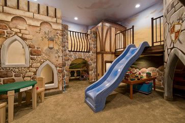 Ideas For Children's Playroom Design Ideas, Pictures, Remodel, and Decor - page 16