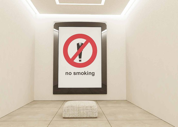 NO SMOKING AREA - Private Collection, Milan, 2007.  Demis Valle
