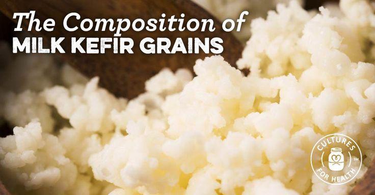 Composition of Milk Kefir Grains: Bacteria & Yeasts