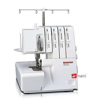Bernina 800DL Veelzijdige Overlockmachine - Matri Naaimachines  € 499,00