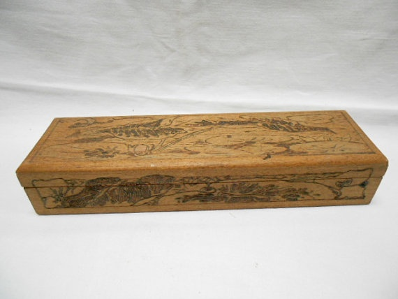 Check out this French pencil box! found it on etsy