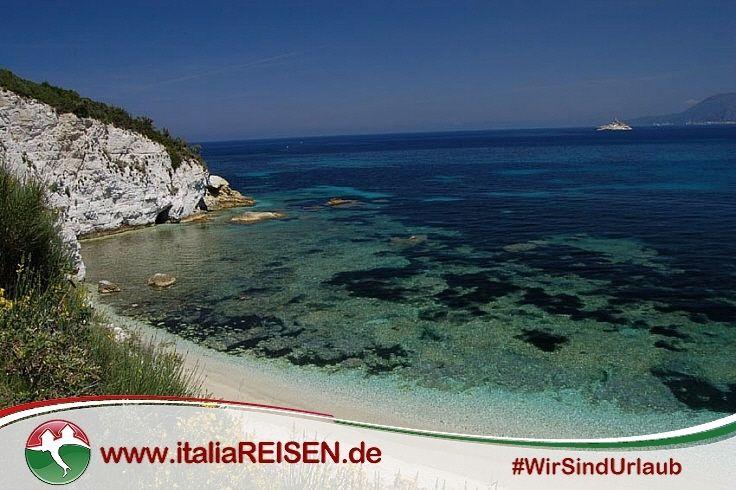 Urlaub Auf Der Insel Elba Italien Meer Strand Beach Sun