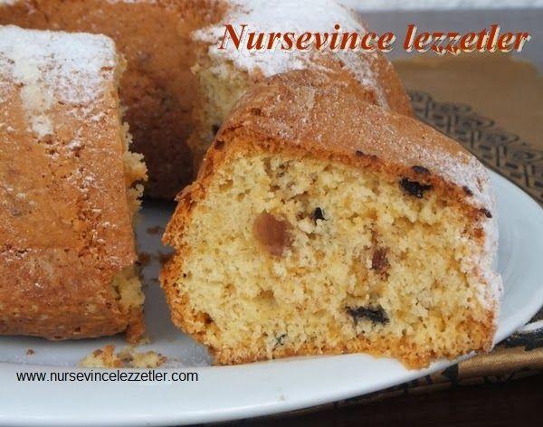 Üzümlü Pastane Keki