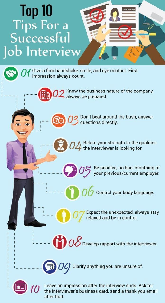 Infographic Infographic Top 10 Tips For A Successful Job Interview Accounting Job Ideas Of A Job Interview Tips Job Interview Preparation Job Interview