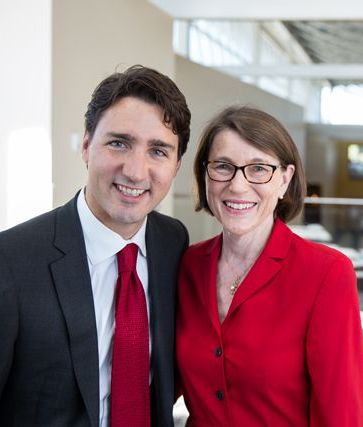 Canada's liberal party has triumphed, though Liz Riley did not