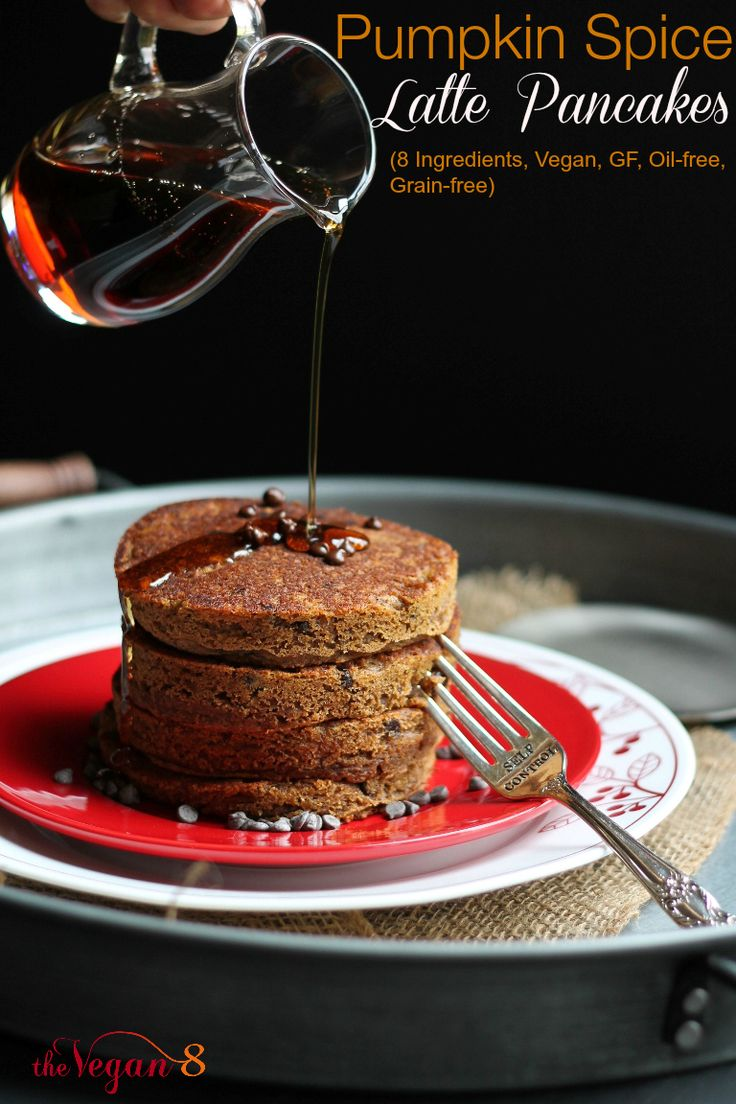 wallets for mens online 8 Ingredient Pumpkin Spice Latte Pancakes  To die for  Vegan  gluten free  oil free  grain free  By http   TheVegan8 com  vegan  glutenfree  oilfree  grainfree  pancakes  breakfast