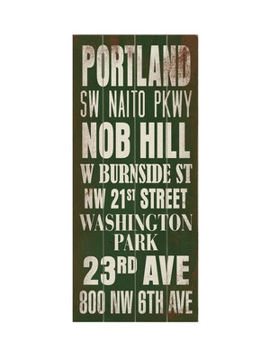 portland: Portland Transitional, Subway Art, Transitional Wood, Wood Signs, Buy Arteh, Arteh Llc, Transitional Signs, Signs Language, Art Plaques