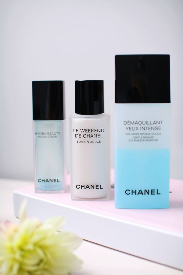 My reviews of these amazing skincare products by Chanel (Including my favourite Le Weekend De Chanel) can be found over on the blog right now!