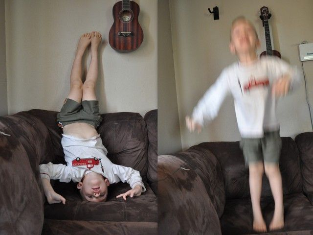 Getting Your Hyperactive Child to Calm Himself