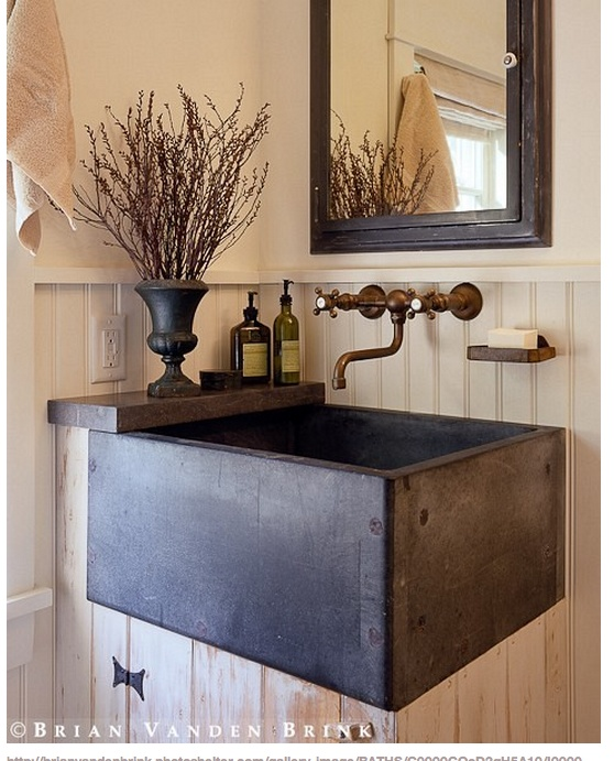 great sink brian vanden brink design bathrooms pinterest buanderies vier de buanderie et. Black Bedroom Furniture Sets. Home Design Ideas