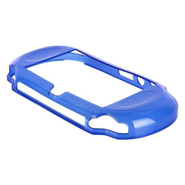 Silicone Shell - Medium Hard (Blå) Sony Playstasjon Vita Deksel