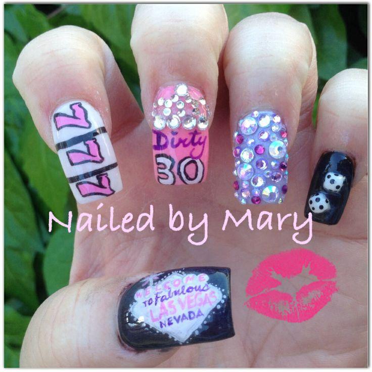 25 beautiful las vegas nails ideas on pinterest pretty nails dirty 30 birthday las vegas nails prinsesfo Images