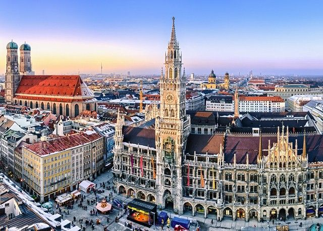 Nice Let the historic centre of Munich Germany charm you