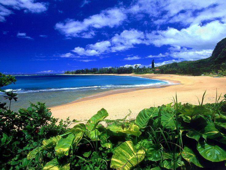 Пляж Хаена, остров Кауаи, Гавайи