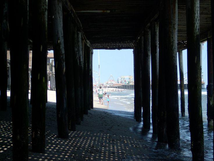 Jersey Shore  - http://en.wikipedia.org/wiki/Jersey_shore