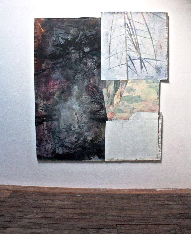Interior Design, 2014, oil on linen assemblage, 212x189 cm #SeanCrossley #Canal05 #Brusseles #ArtGallery