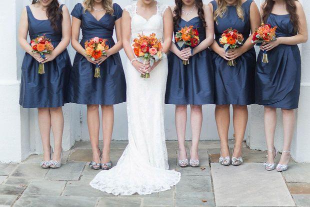 Real alabama brides october wedding in huntsville for Wedding dresses huntsville al