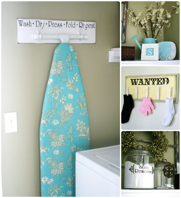 After about a year of looking for a small laundry room redo. Description from thehouseofsmiths.com. I searched for this on bing.com/images