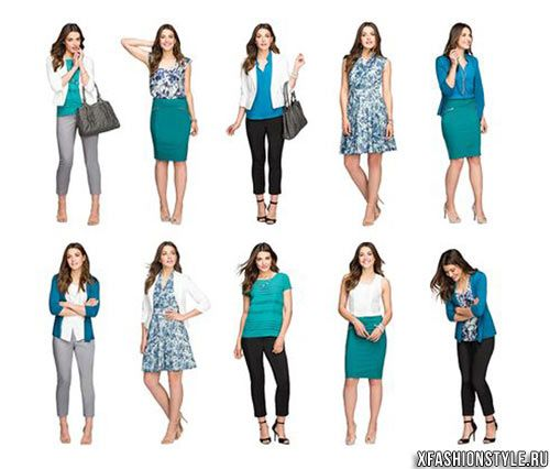 What is a capsule wardrobe.  Photo examples of capsules