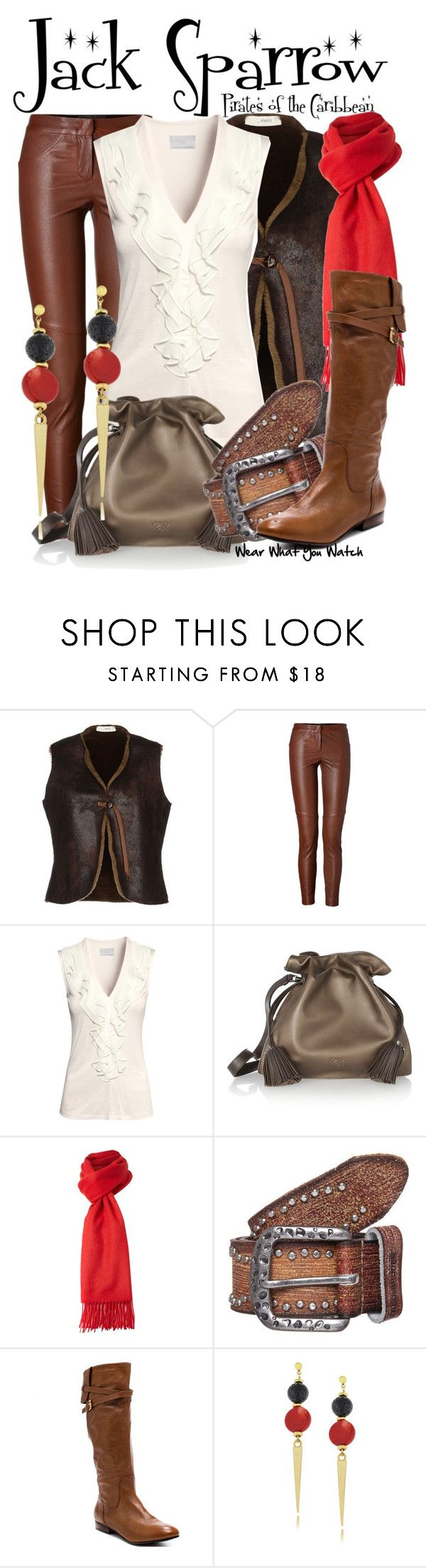 """""""Pirates of the Caribbean"""" by wearwhatyouwatch ❤ liked on Polyvore featuring ..,MERCI, A.L.C., H&M, Loewe, GLEN PRINCE, FREDsBRUDER, GUESS, wearwhatyouwatch and film"""