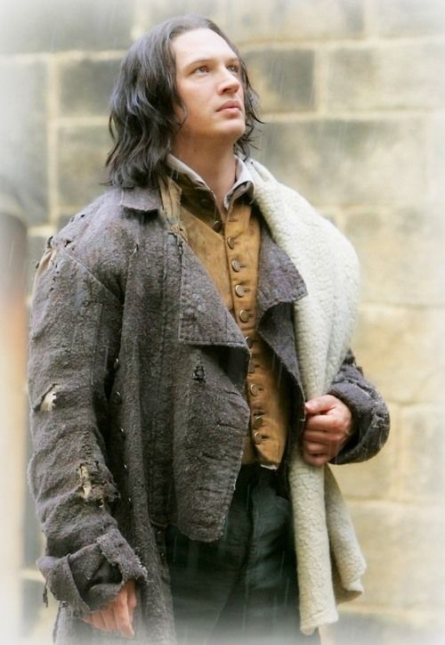 Tom Hardy as Heathcliff in the 2009 version of Wuthering Height... he was amazing!