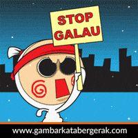 DP BBM Bergerak Galau, stop galau