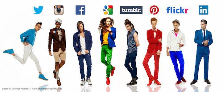 ファッションフォトグラファーであるViktorija Pashutaさんが制作した人気SNSを男性に擬人化した写真が話題になっていたので、紹介する!