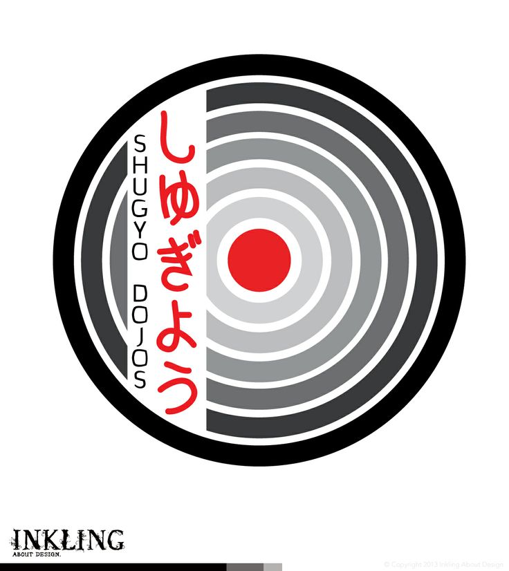 embroidered club badge for SHUGYO DOJOS (ZEN DO KAI QUEENSLAND) by Inkling About Design www.inklingaboutdesign.com  #graphicdesign #inkling #logo #branding #Toowoomba #Queensland #zendokai #martialarts #karate #zen #dojo #clubpatch