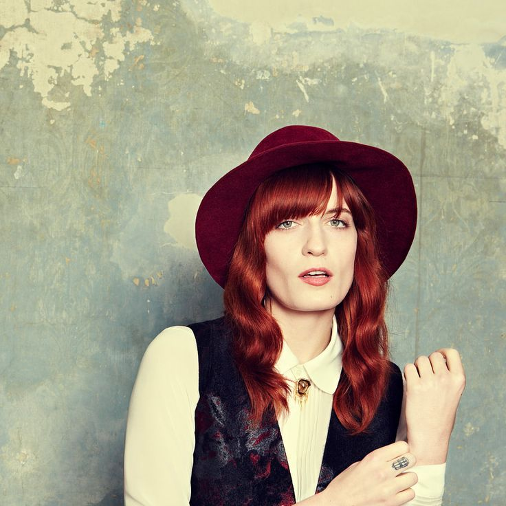 Florence Welch of Florance and The Machine