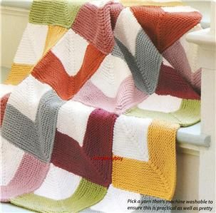 Free Knitting Pattern Mitered Afghan : Half Double Crochet Mitred Square ...