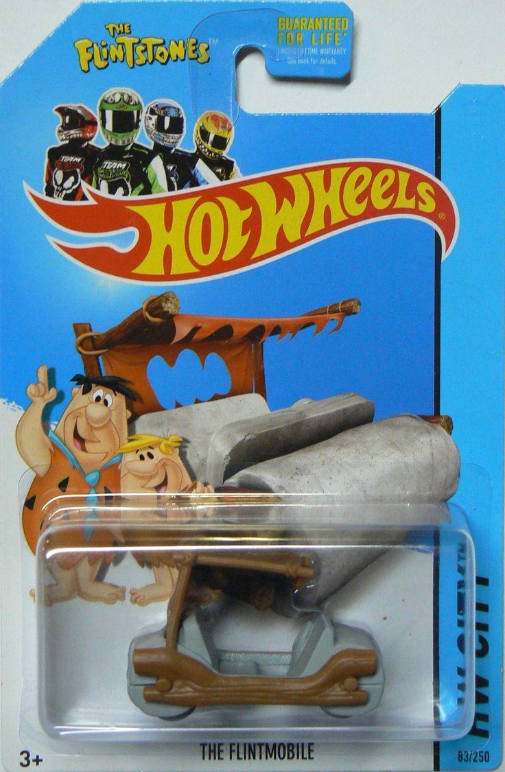 Hw hot wheels 2015 hw city 48 250 canyon carver police motorcycle - Amazonsmile Hot Wheels 2014 The Flintstones Tooned 1 Hw City The Flintmobile 83 250