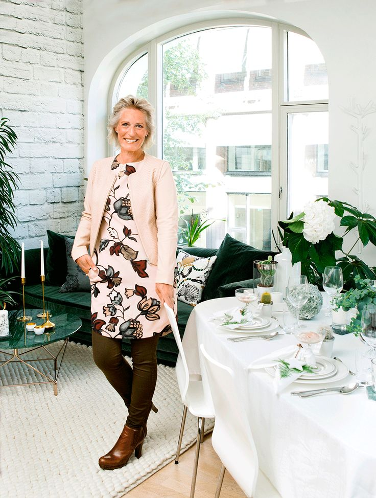 Decoration, winter, Christmas, table setting. White, green, plant, succulents. anettewillemine.com Photo: http://www.grytraaen.no