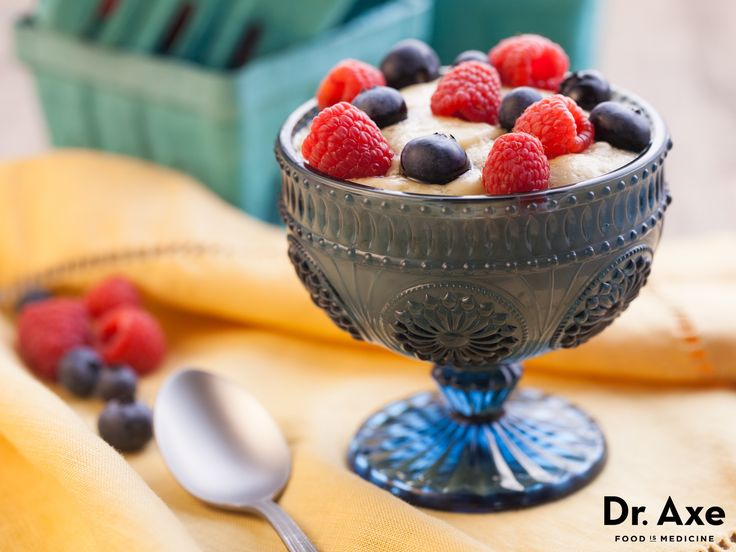 Coconut Milk Pudding Recipe http://www.draxe.com #health #holistic #natural
