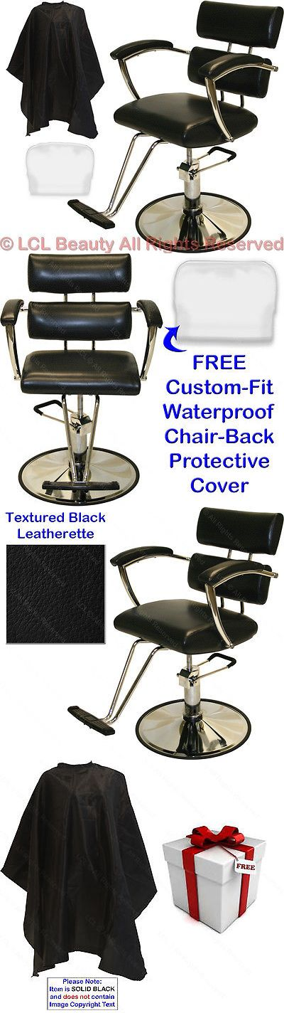 Salon Chairs and Dryers: Padded Arms Professional Hydraulic Barber Chair Styling Beauty Salon Equipment -> BUY IT NOW ONLY: $159.88 on eBay!