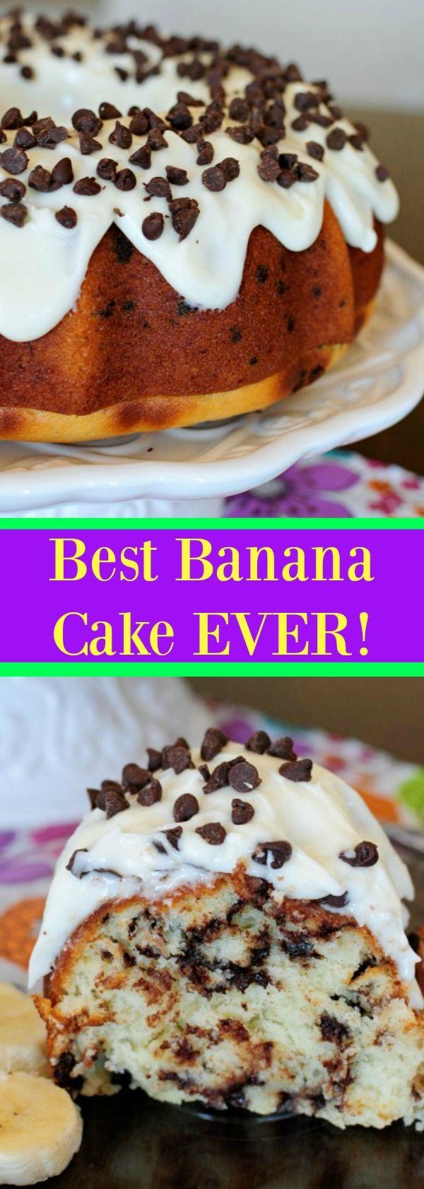 Best Banana Cake EVER!