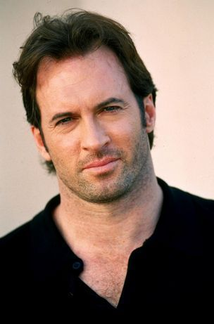 Scott Patterson. I think he'd make a great Harry Dresden. His voice and withering stare are perfection.