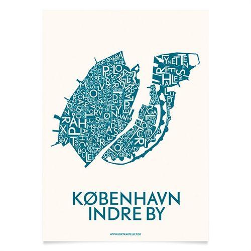 Plakat over København - Kortkartellet