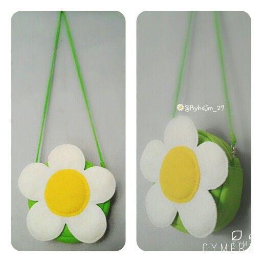 Flower bag felt